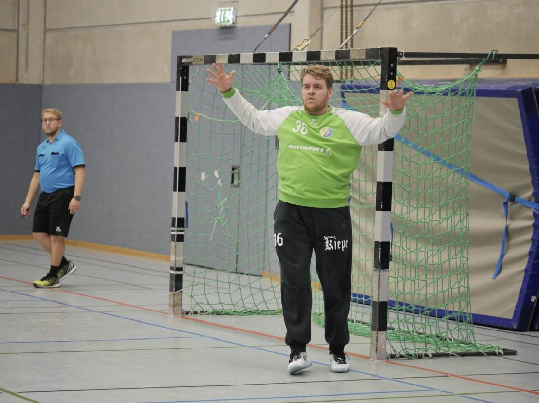 HSG Gremmendorf Angelmodde Florian Mende Torwart ASV Hamm-Westfalen