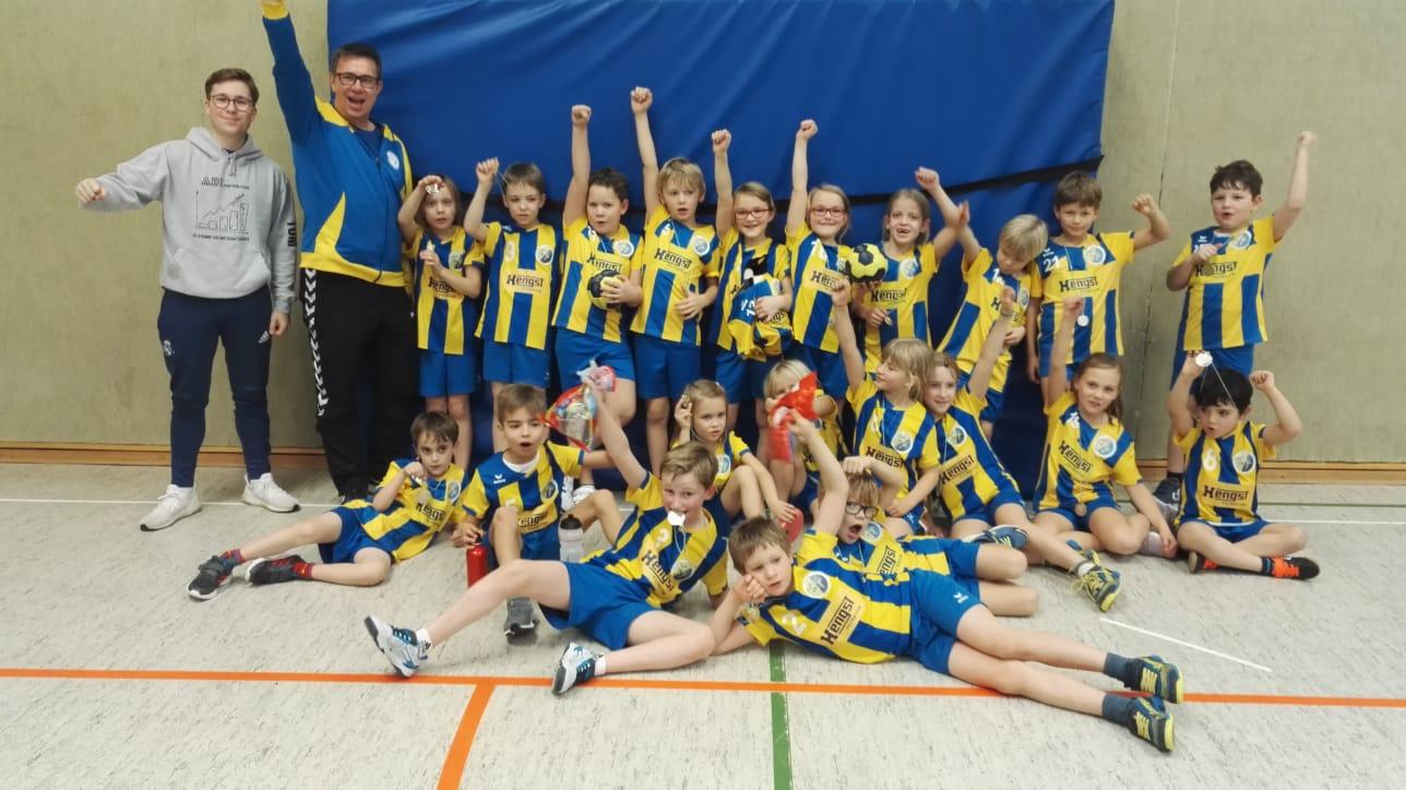 Handball; Münster; Minis; HSG Gremmendorf-Angelmodde; Spaß; Spielefeste; HSG