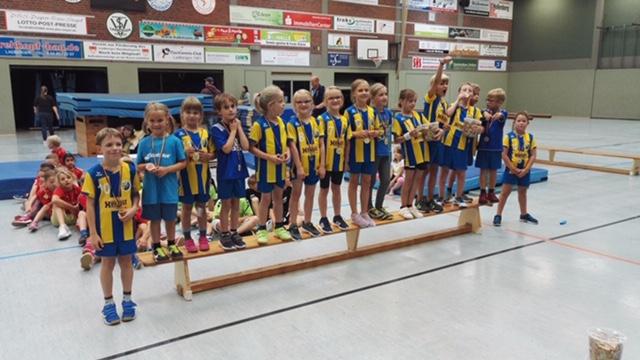 Minis; HSG Gremmendorf-Angelmodde; Handball; Münster; Saisonstart