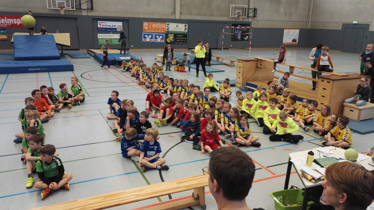 handball; Gremmendorf, Minis; HSG Gremmendorf-Angelmodde; Sport; Jugendarbeit