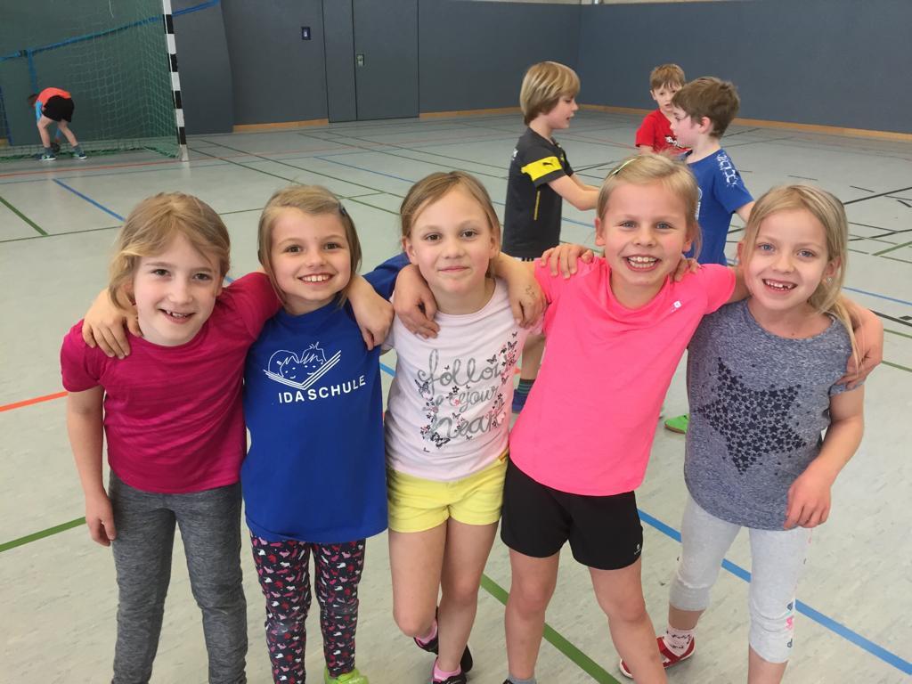 Handball E-Jugend HSG Gremmendorf Angelmodde Mädchen