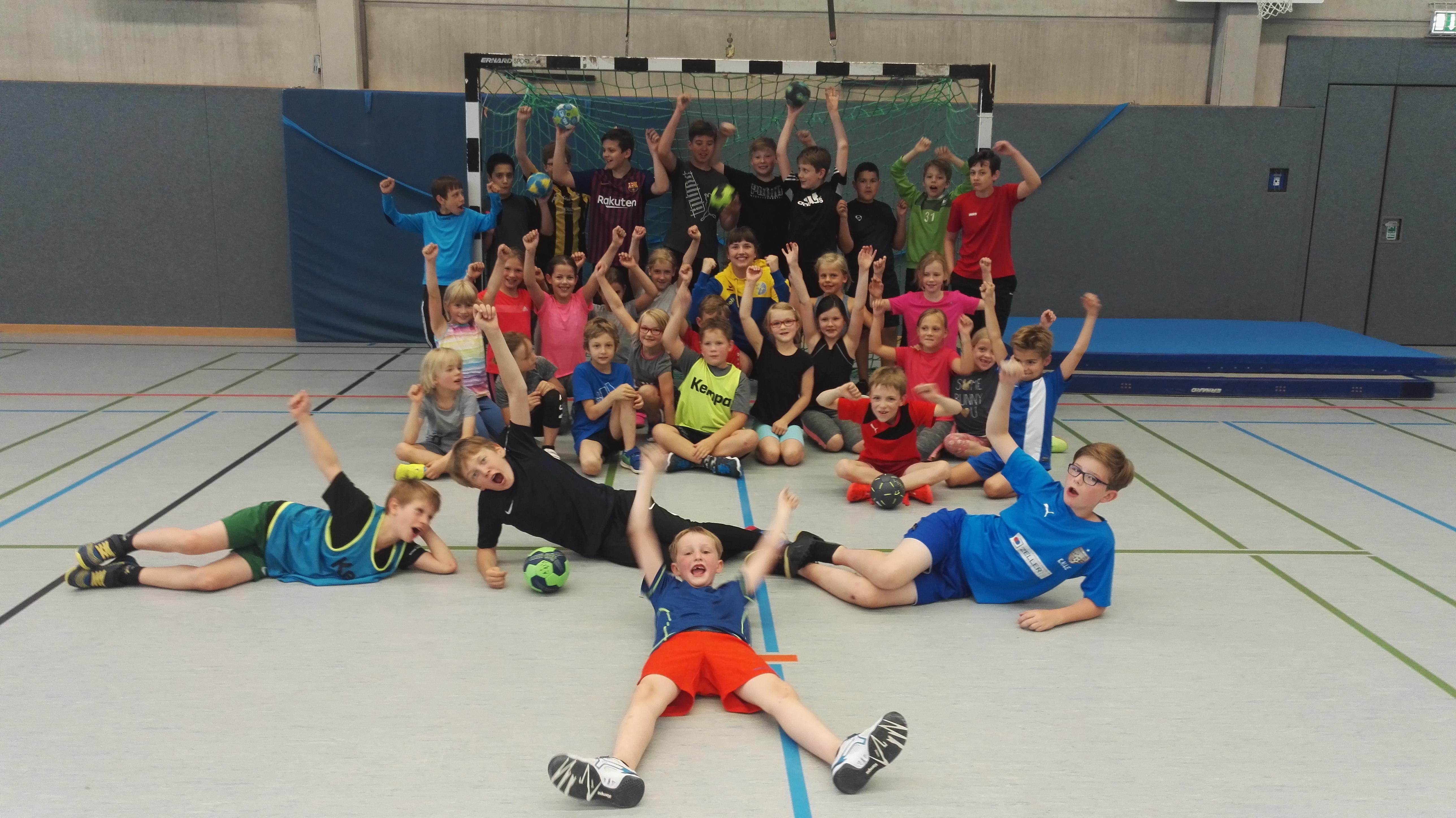 Handball Münster HSG Gremmendorf Angelmodde Danke Amelie